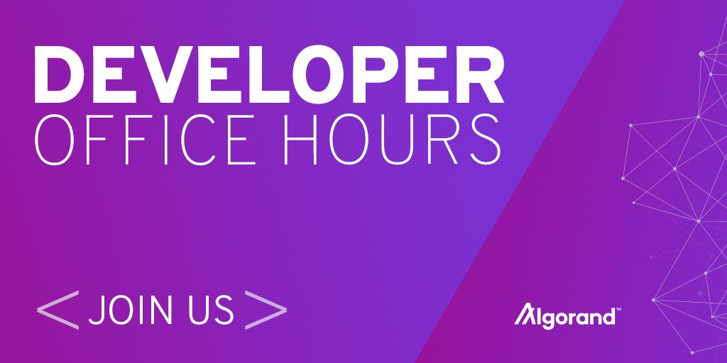Algorand-Developer-Office Hours